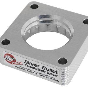 AFE Silver Bullet Throttle Body Spacer Jeep Wrangler