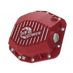 AFE Power Pro Series Front Differential Cover Red
