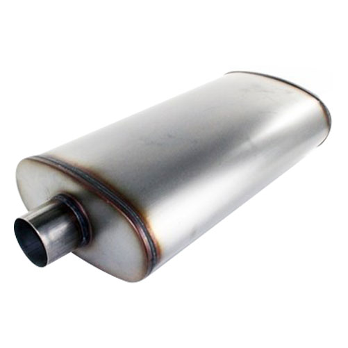 """AFE MACH Force-Xp 3"""" 409 Stainless Steel Muffler"""